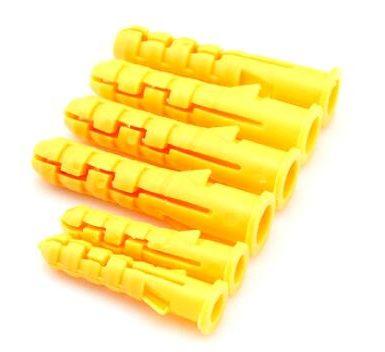 Kuželové plastové hmoždinky s kónickým typem