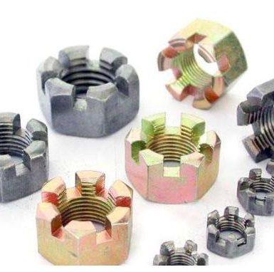 Matice z pozinkované drážky z uhlíkové oceli